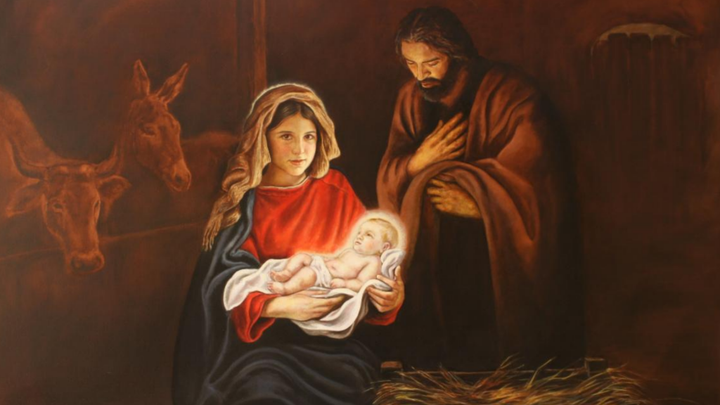 Image of the Holy Family by Mexican painter, José Antonio Ochoa, _is now in the oratory of Ernescliff College